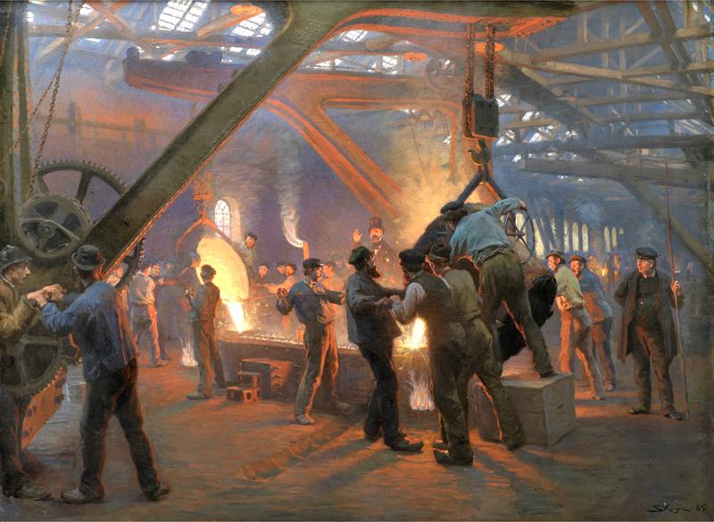 Iron Foundry 19th Century